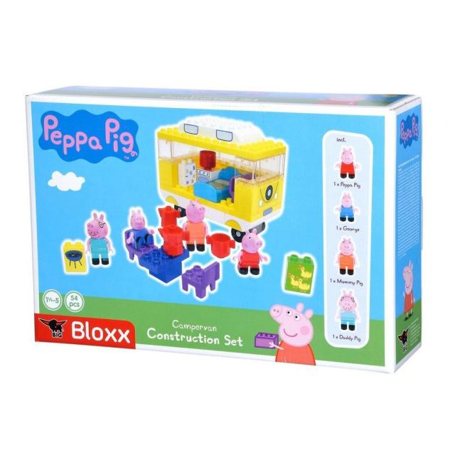 Obrázek produktu PlayBIG Bloxx, Peppa Pig Karavan s příslušenstvím
