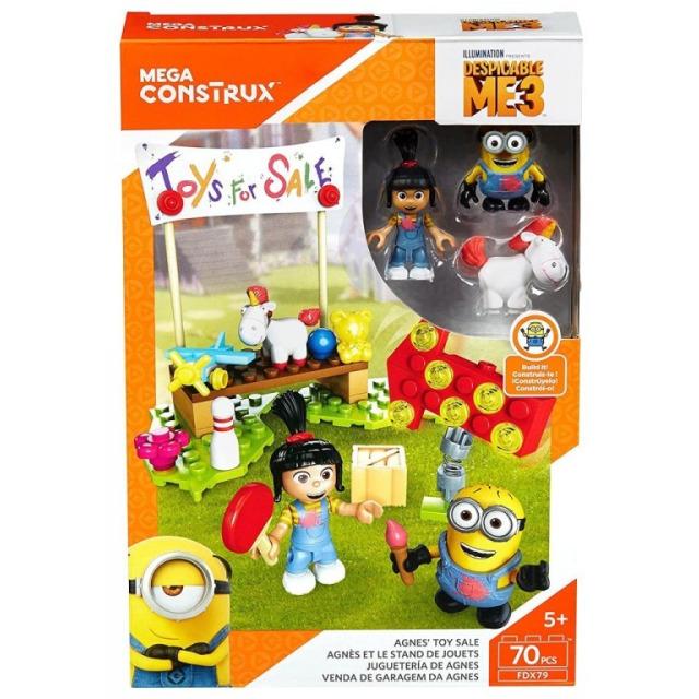 Obrázek produktu Mega Bloks Mimoňové Agnes a dětský bazar