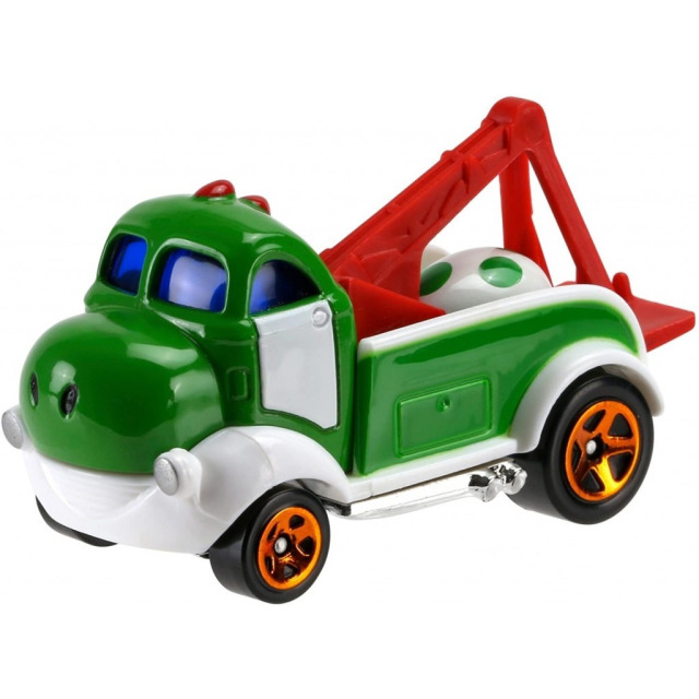 Obrázek produktu Hot Wheels Super Mario YOSHI, Mattel FGK30