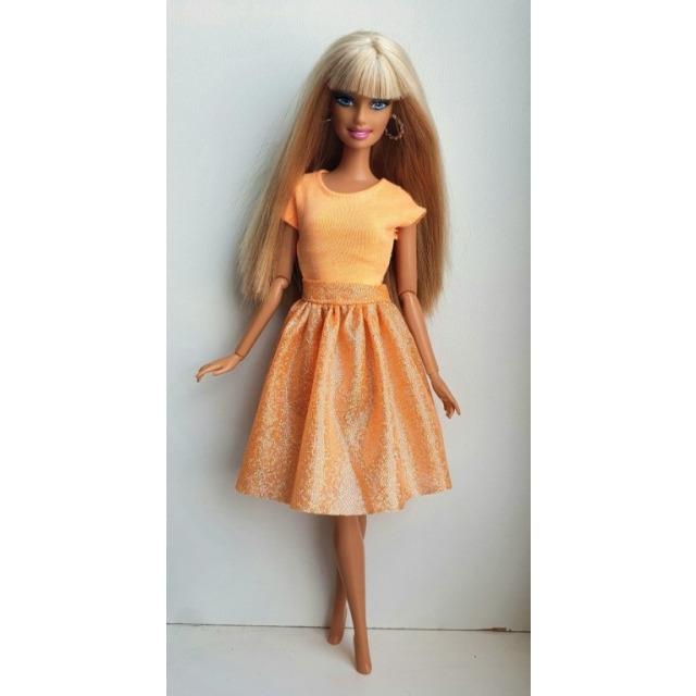 Obrázek produktu LOVEDOLLS Glitrová sukně oranžová