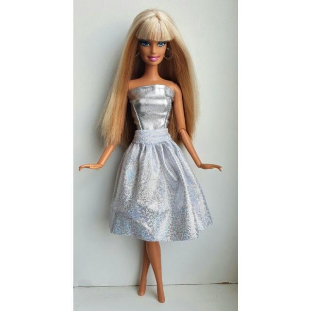 Obrázek produktu LOVEDOLLS Glitrová sukně stříbrná