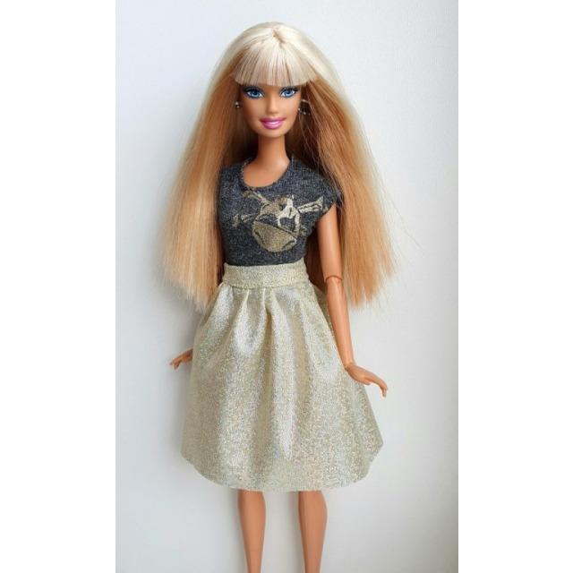 Obrázek produktu LOVEDOLLS Glitrová sukně zlatá