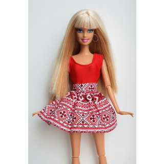Obrázek 1 produktu LOVEDOLLS Folklórní sukně červená