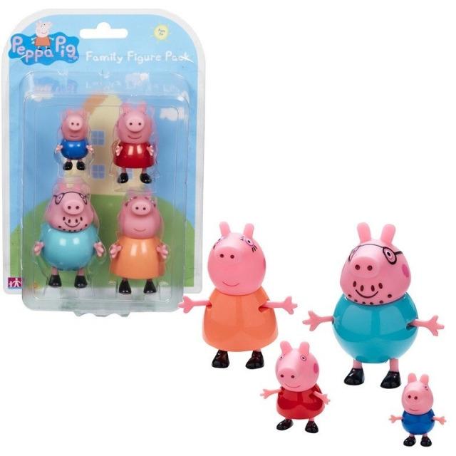 Obrázek produktu Peppa Pig Rodina, 4 figurky