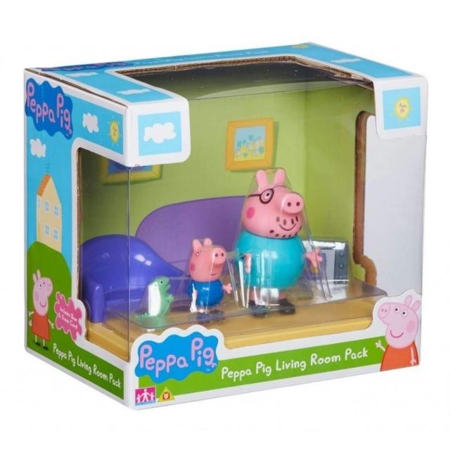 Obrázek produktu Peppa Pig Obývací pokoj se 2 figurkami
