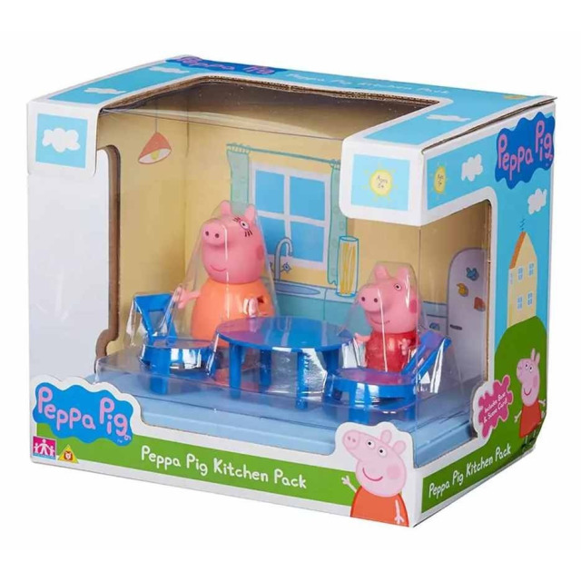 Obrázek produktu Peppa Pig Kuchyně se 2 figurkami