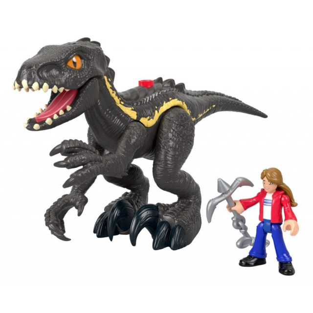 Obrázek produktu Fisher Price Imaginext INDORAPTOR a MAISIE, Mattel GKL51
