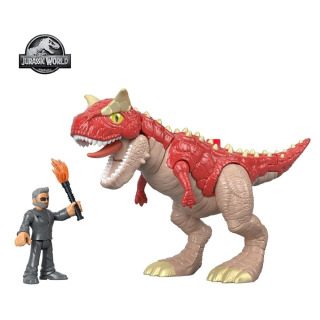 Obrázek 1 produktu Fisher Price Imaginext CARNOTAURUS a DR. MALCOLM, Mattel GBN16