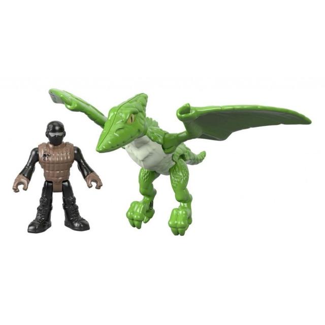 Obrázek produktu Fisher Price Imaginext PTERODACTYL s figurkou, Mattel FXT33