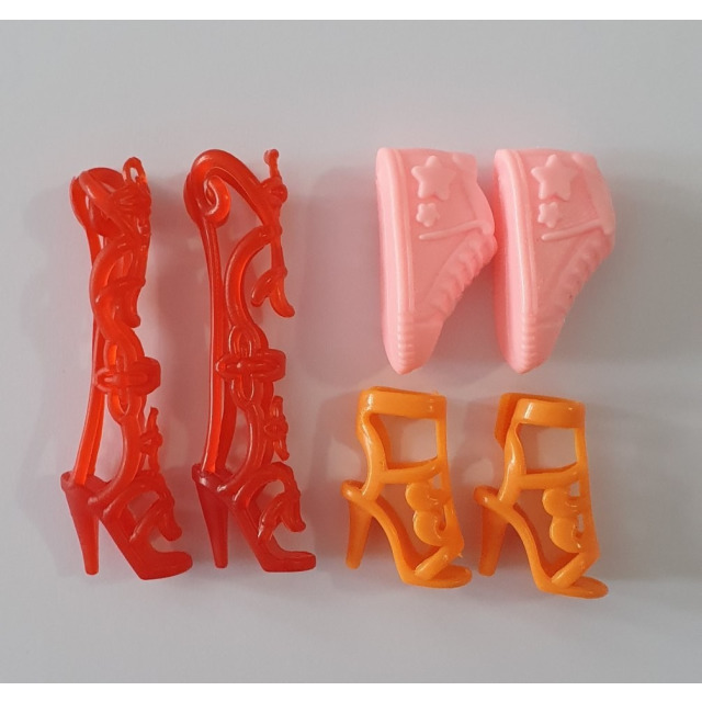 Obrázek produktu LOVEDOLLS Botičky červená, růžová, oranžová