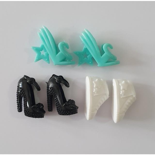 Obrázek produktu LOVEDOLLS Botičky černá, bílá, tyrkysová