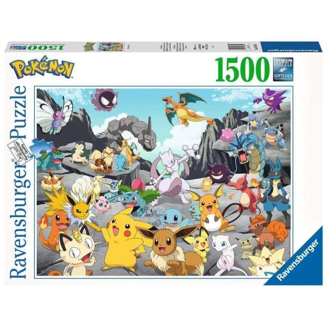 Obrázek produktu Ravensburger 16784 Puzzle Pokémon 1500 dílků