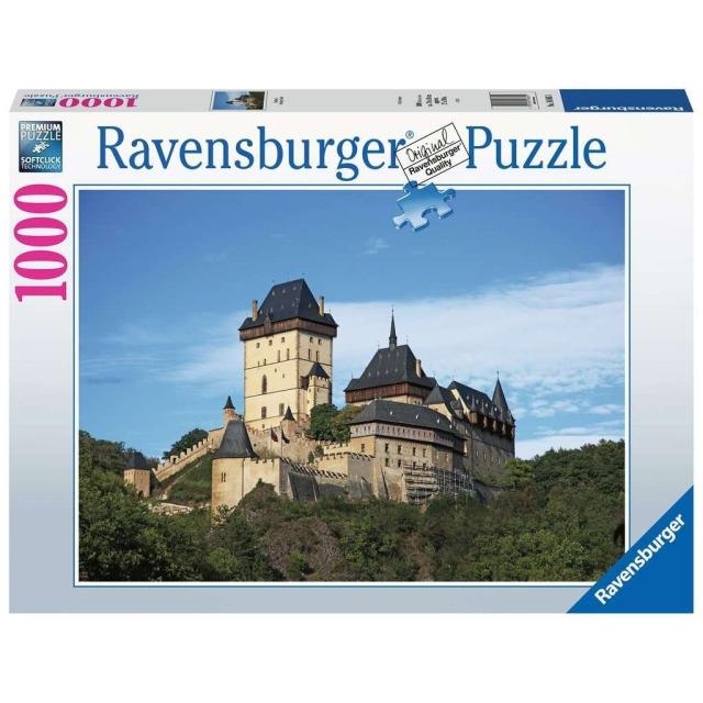 Obrázek produktu Ravensburger 16865 Puzzle Česká kolekce: Karlštejn 1000 dílků