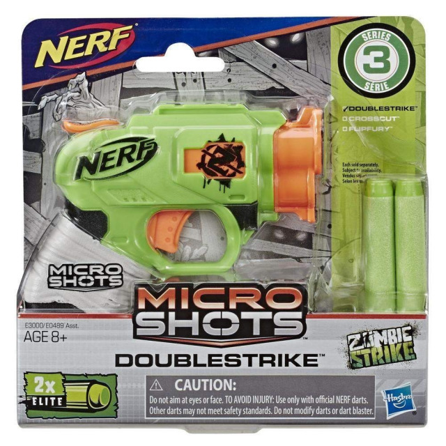 Obrázek produktu Hasbro NERF Microshots DoubleStrike, E3000
