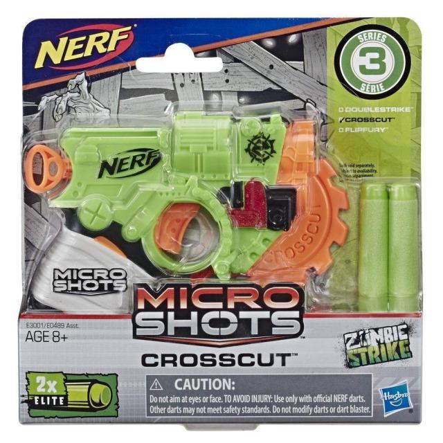 Obrázek produktu Hasbro NERF Microshots Crosscut, E3001