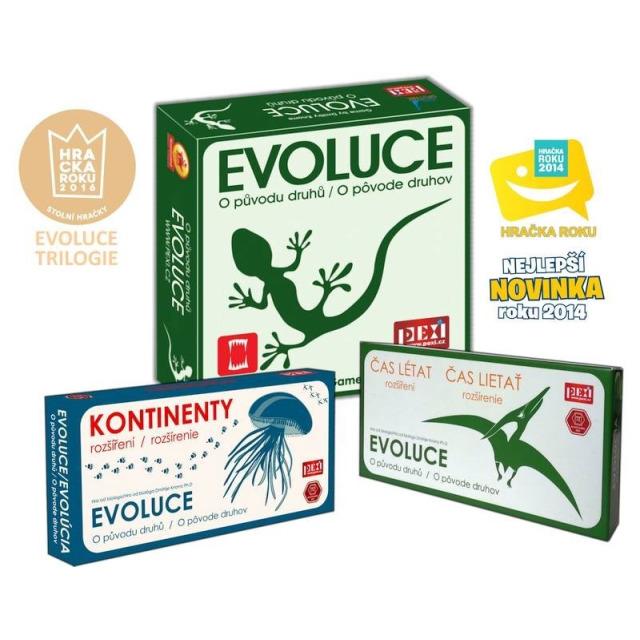 Obrázek produktu Evoluce Trilogie: O původu druhů, Čas létat + Kontinenty