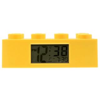 Obrázek 1 produktu LEGO Brick - hodiny s budíkem, žluté