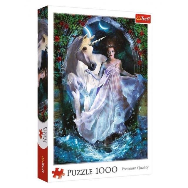 Obrázek produktu Puzzle Funny Cities Magický vesmír 1000d., Trefl