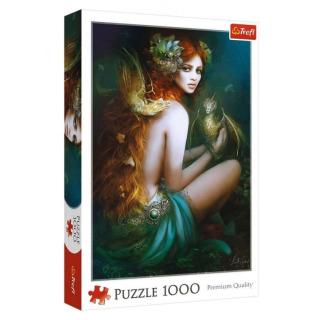 Obrázek 1 produktu Puzzle Funny Cities Přítelkyně draků 1000d., Trefl