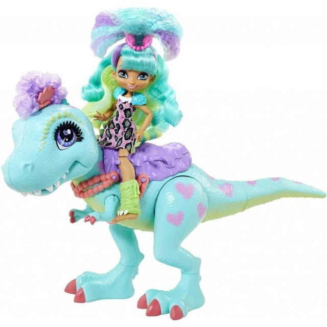 Obrázek produktu Mattel CAVE CLUB Rochelle & T-Rex, GTL69