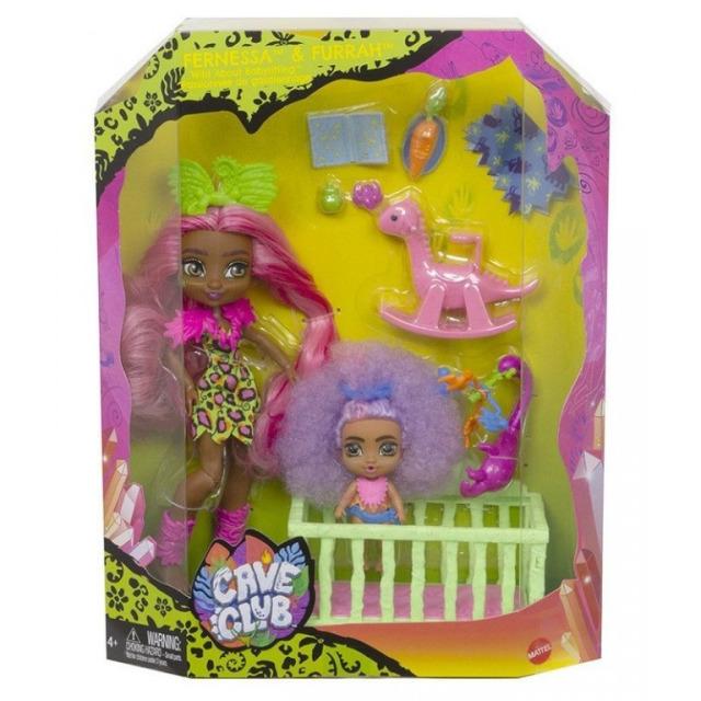 Obrázek produktu Mattel CAVE CLUB Fernessa & Furrah, GNL92
