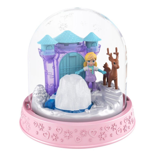 Obrázek produktu Polly Pocket Sněhová koule světlerůžová, Mattel GNG68