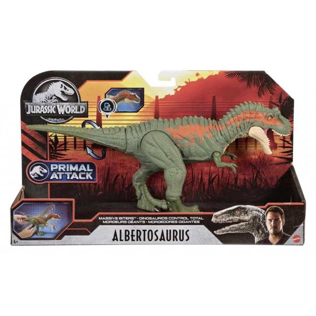 Obrázek produktu Jurský svět Dinosauři v pohybu ALBERTOSAURUS, Mattel GVG67