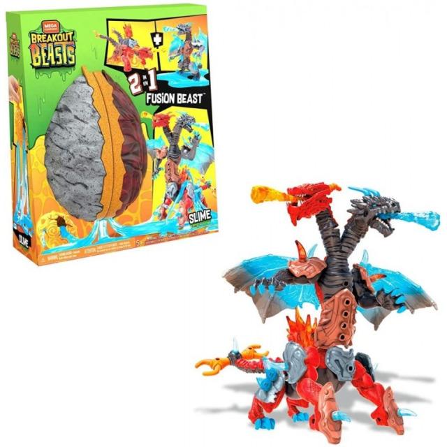 Obrázek produktu Breakout Beasts Dvouhlavý drak, Mattel GGJ66