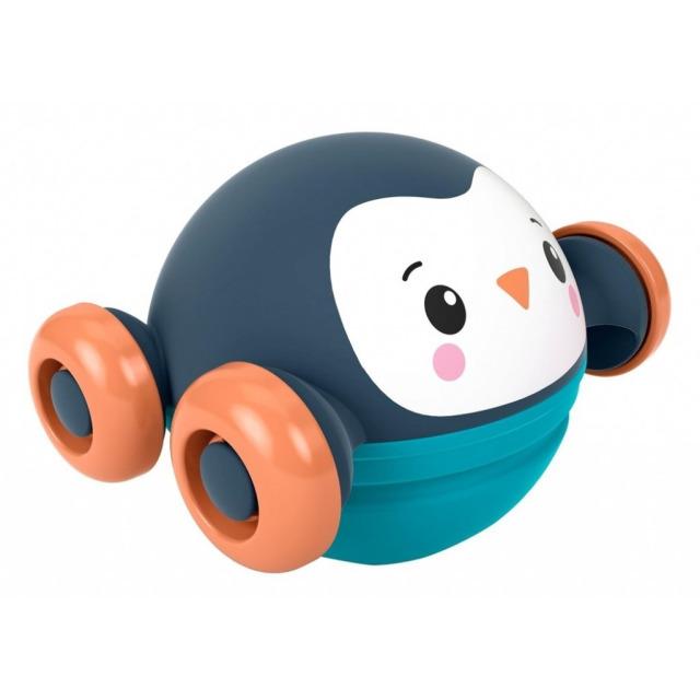 Obrázek produktu Fisher Price Jezdící a kutálející se zvířátko Tučňák, Mattel GVL64