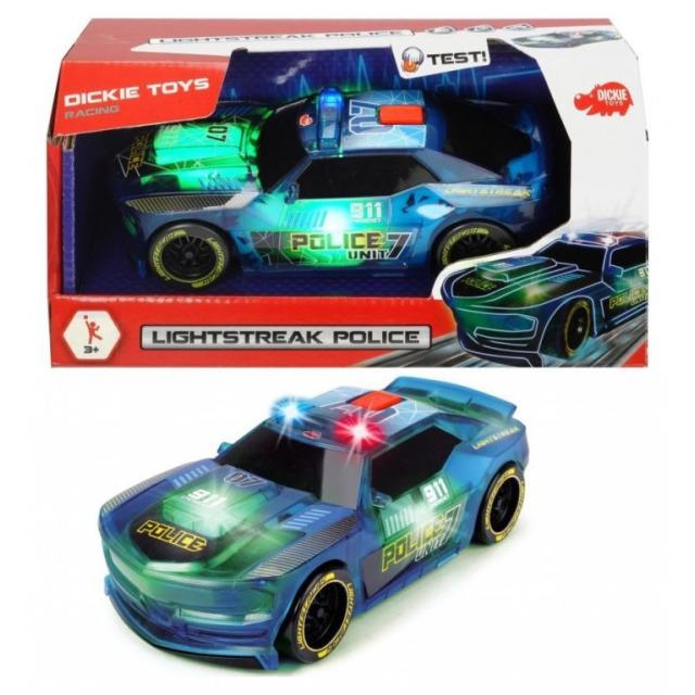 Obrázek produktu Dickie Policejní auto Lightstreak modré