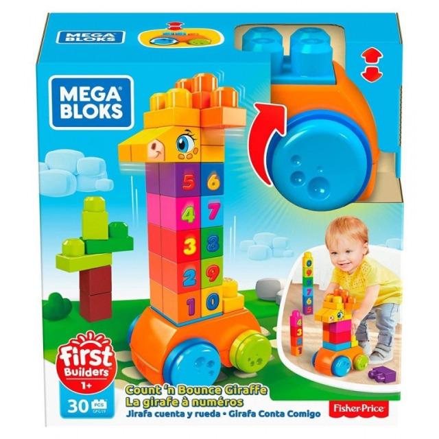 Obrázek produktu Mega Bloks First Builders Kostky s čísly
