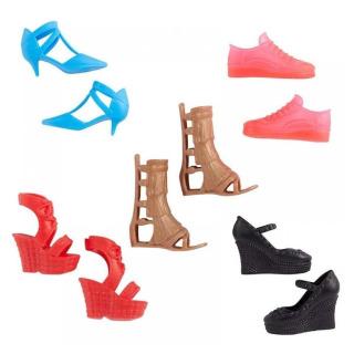 Obrázek 1 produktu Barbie Kolekce bot, Mattel GXG02