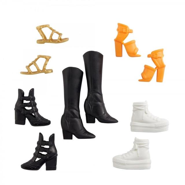 Obrázek produktu Barbie Kolekce bot, Mattel GXG01
