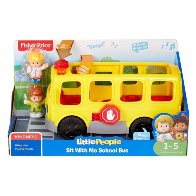Obrázek produktu Fisher Price Little People Školní autobus CZ, Mattel GXR97