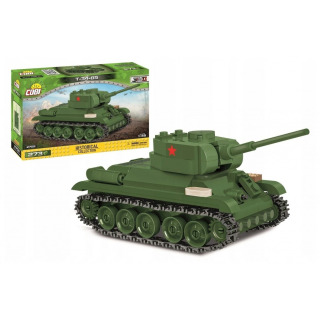 Obrázek 1 produktu COBI 2702 SMALL ARMY T-34/85, 1:48, 273 k