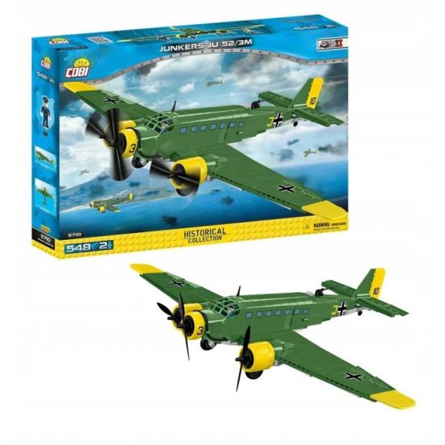 Obrázek produktu Cobi 5710 World War II Německý dopravní letoun Junkers JU 52/3M