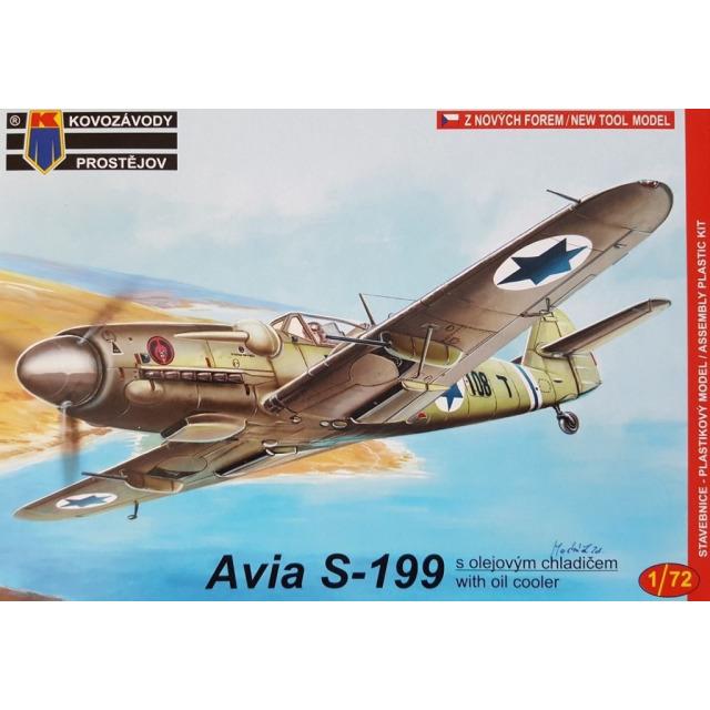 Obrázek produktu Avia S-199 Izrael/CS 1:72