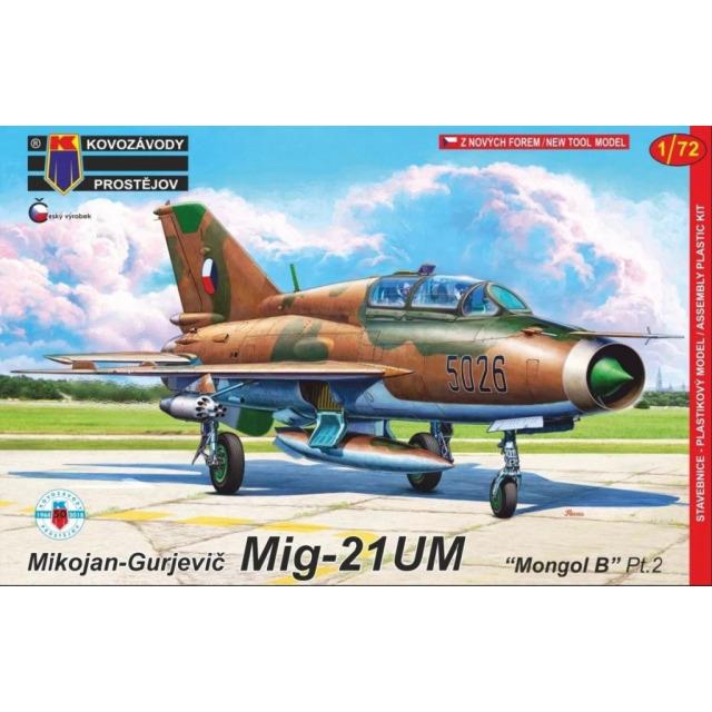 """Obrázek produktu MiG-21 UM """"Mongol B"""" 1:72"""