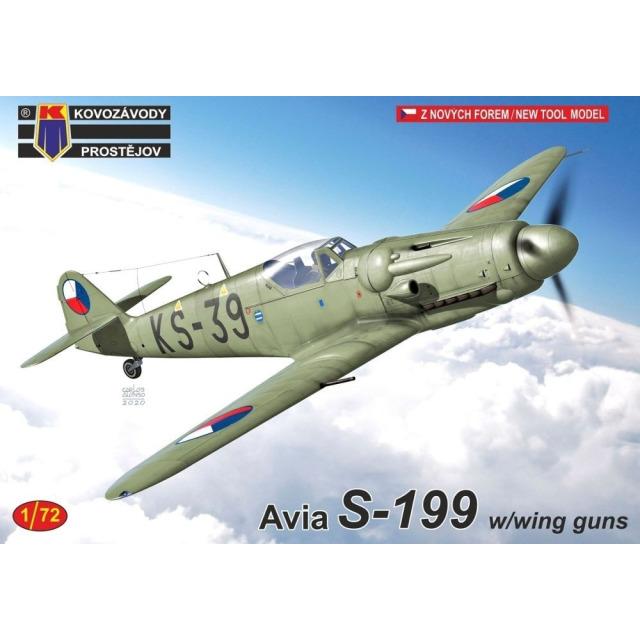 Obrázek produktu Avia S-199 w/with guns 1:72