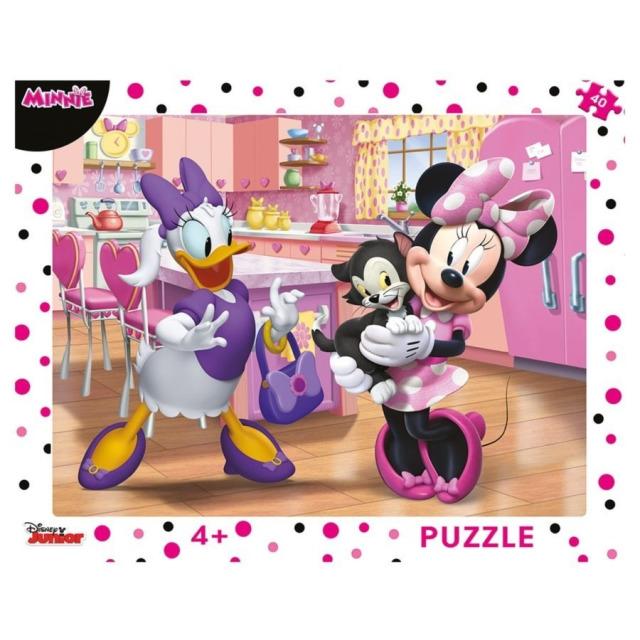 Obrázek produktu Puzzle WD Minnie & Mazlíčci 40d. Dino