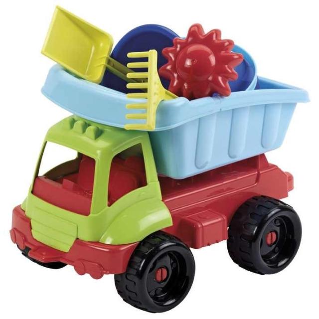 Obrázek produktu Ecoiffier Nákladní auto s kbelík setem zeleno-modré 34cm
