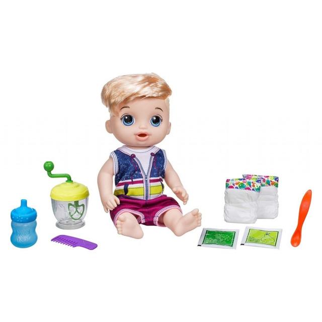 Obrázek produktu Baby Alive Blonďatý chlapec s mixérem
