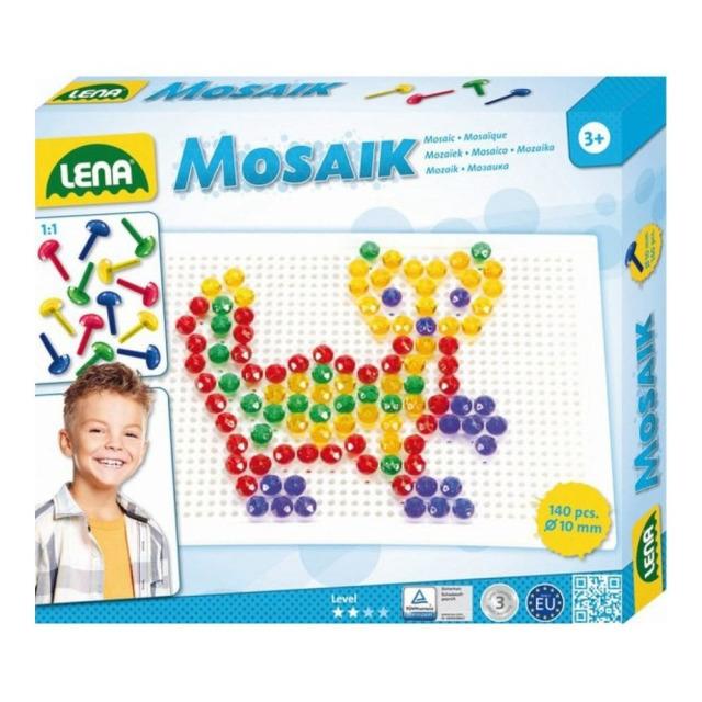 Obrázek produktu LENA Mozaika malá, 140 dílků, 10mm