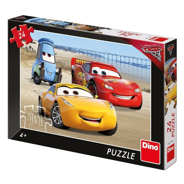 Obrázek produktu Puzzle WD Cars 3 Na pláži 24d. Dino