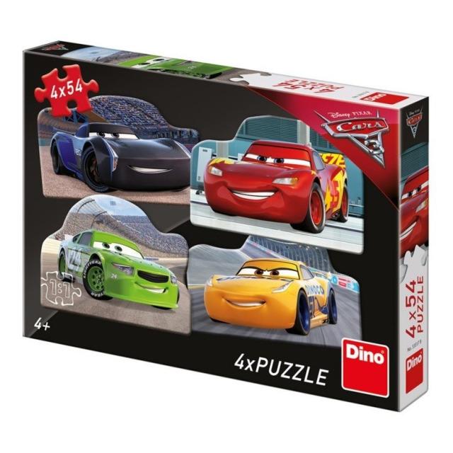 Obrázek produktu Puzzle WD Cars 3 Rivalové 4x54d. Dino