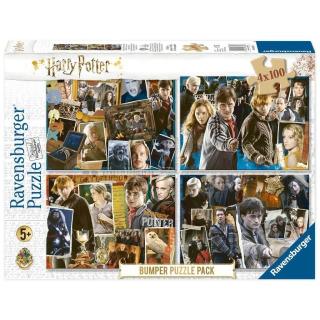 Obrázek 1 produktu Ravensburger 06832 Puzzle Harry Potter set 4x100 dílků