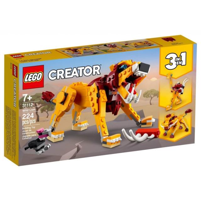 Obrázek produktu LEGO CREATOR 31112 Divoký lev