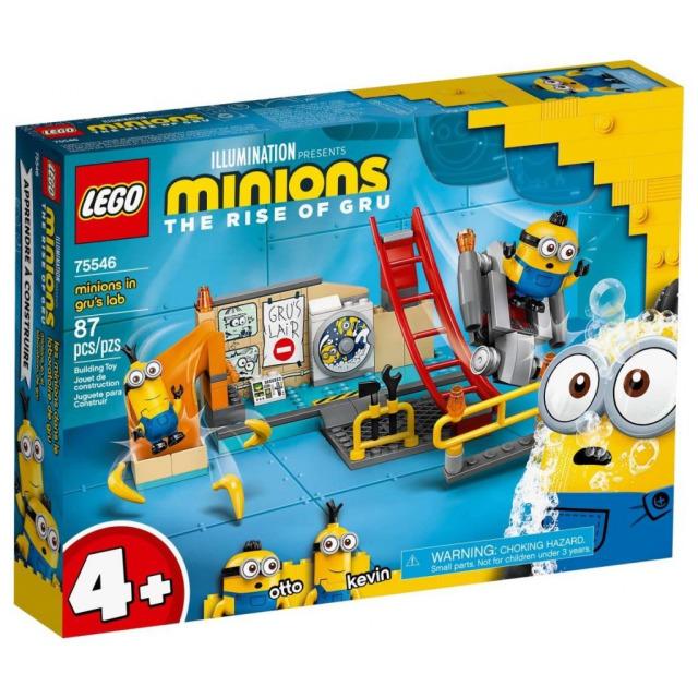 Obrázek produktu LEGO Mimoni 75546 Mimoni v Gruově laboratoři