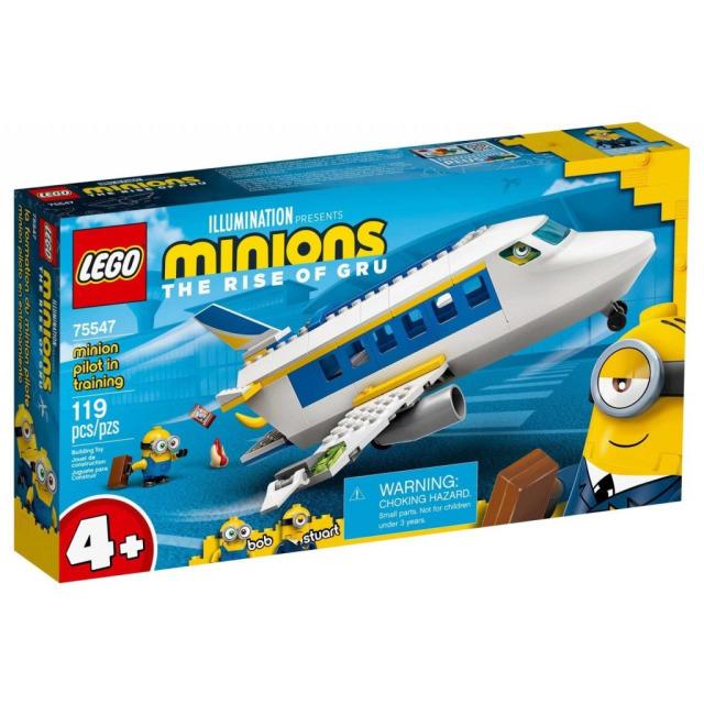 Obrázek produktu LEGO Mimoni 75547 Mimoňský pilot v zácviku