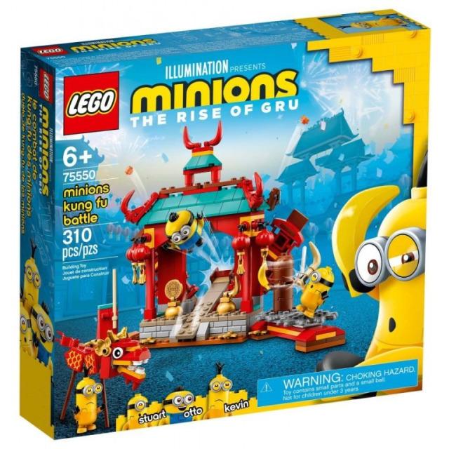 Obrázek produktu LEGO Mimoni 75550 Mimoňský kung-fu souboj